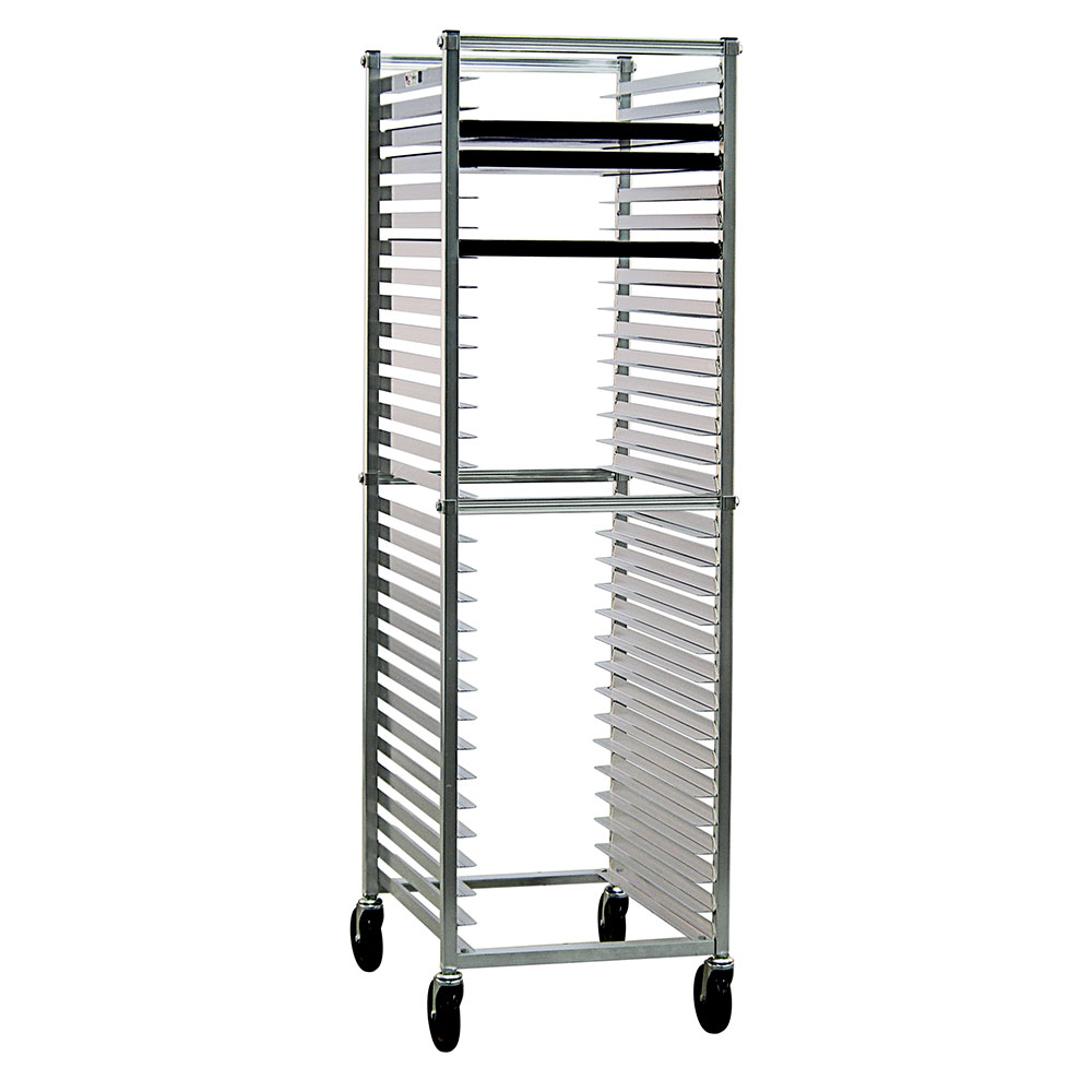 New Age 6300 20.38W 30-Bun Pan Rack w/ 2 Bottom Load Slides