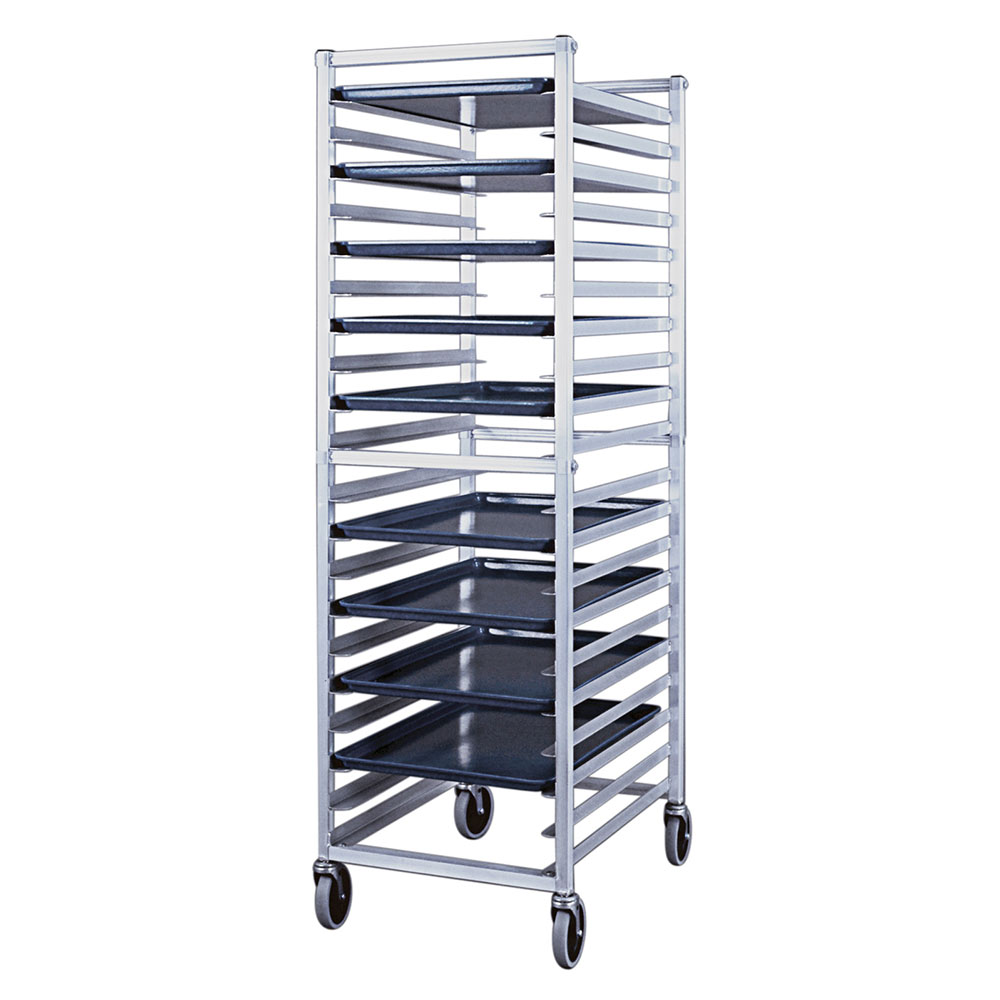 "New Age 6301 20.38""W 20-Sheet Pan Rack w/ 3"" Bottom Load Slides"