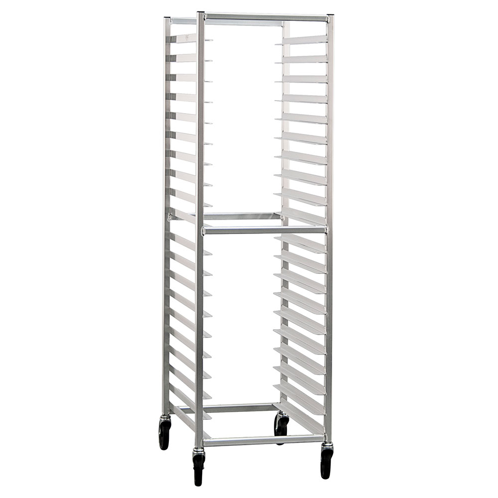 "New Age 6331 20.38""W 20-Sheet Pan Rack w/ 3"" Bottom Load Slides"