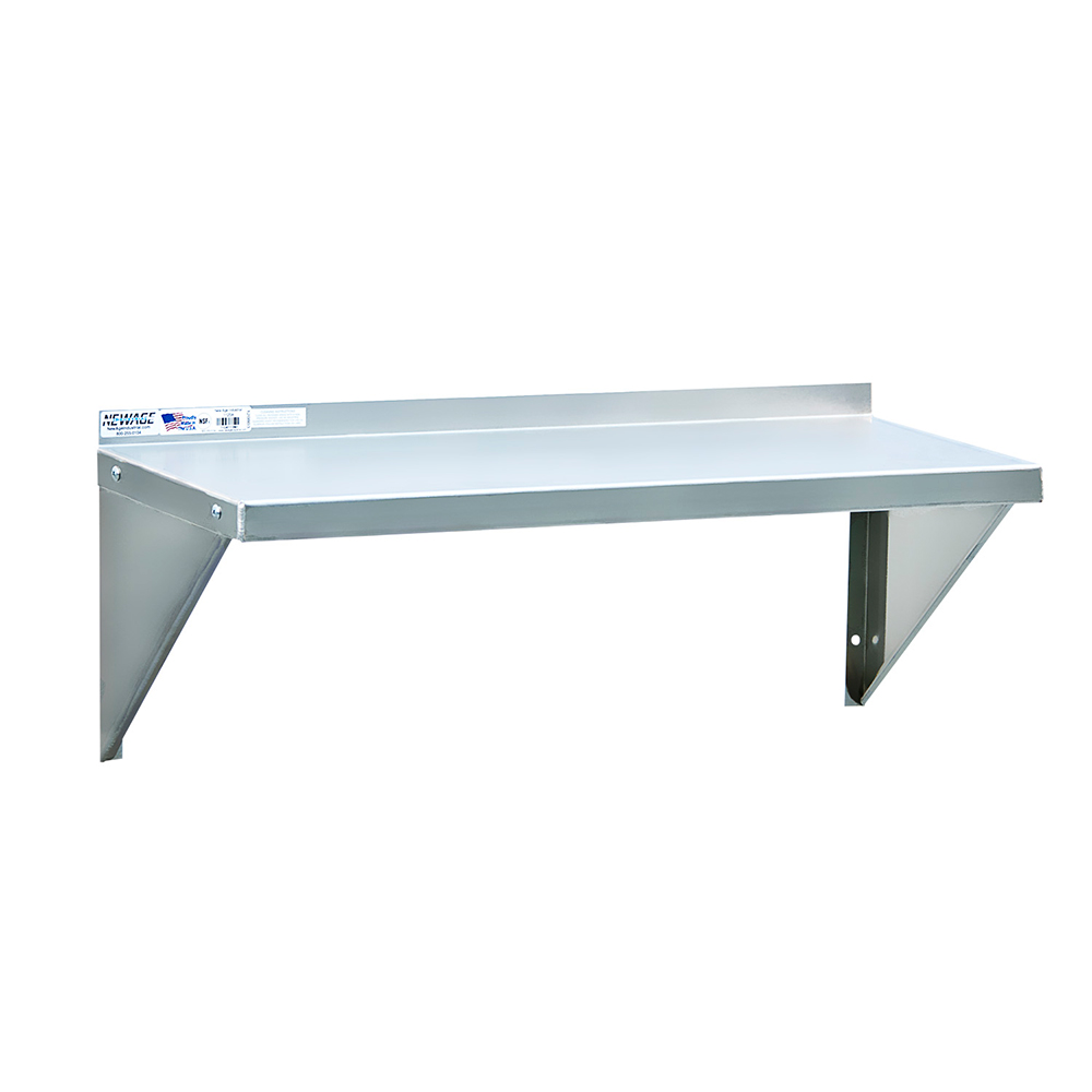 """New Age 92093 36"""" Solid Wall Mounted Shelving"""
