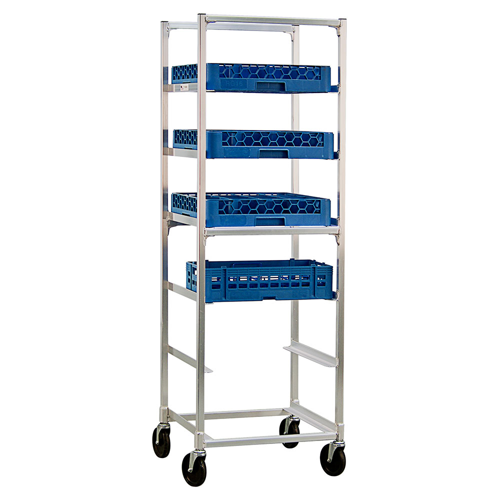 "New Age 93037 22""W 6-Specialty Pan Rack w/ 10"" Bottom Load Slides"
