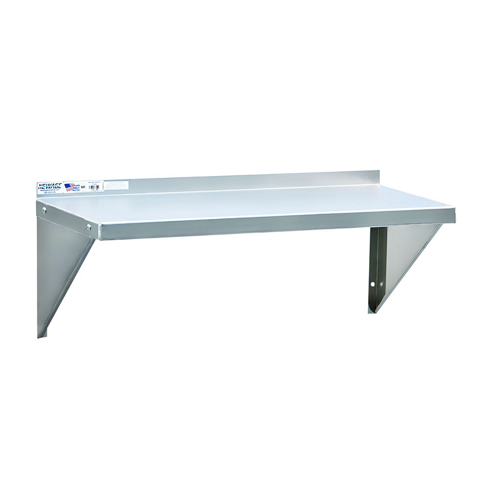 """New Age 95634 24"""" Solid Wall Mounted Shelving"""