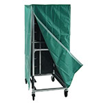 """New Age 96004C 23""""W 20-Specialty Pan Rack w/ 5"""" Bottom Load Slides"""