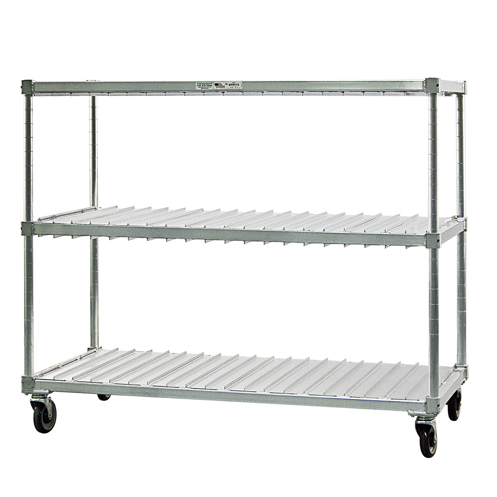 New Age 96090 2-Level Mobile Drying Rack for Trays