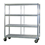 New Age 96708 3-Level Mobile Drying Rack for Trays