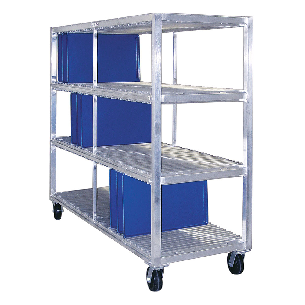 New Age 96710 3-Level Mobile Drying Rack for Trays