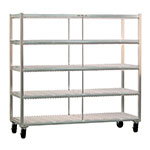 New Age 96711 4-Level Mobile Drying Rack for Trays