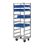 "New Age 97142 22""W 9-Specialty Pan Rack w/ 6"" Bottom Load Slides"