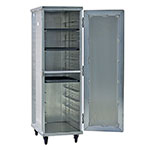 New Age 97243 Full Height Mobile Heated Cabinet w/ (12) Pan Capacity