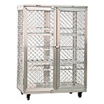 """New Age 97621 49"""" Mobile Security Cage, 26.75""""D"""