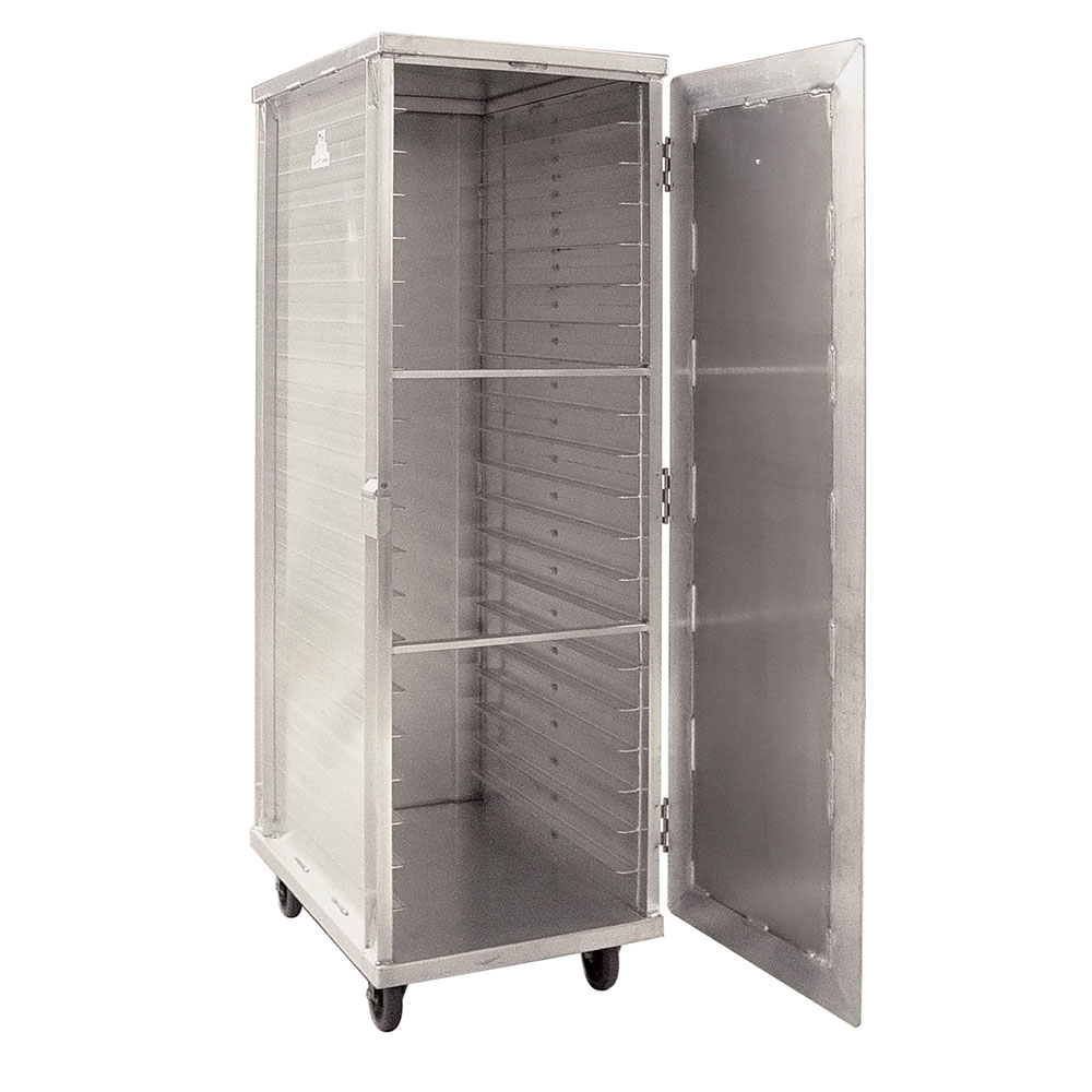 New Age 97718 Full Height Mobile Heated Cabinet w/ (20) Pan Capacity