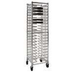 "New Age 97722 20.75""W 20-Pizza Pan Rack w/ 2.375"" Bottom Load Slides"