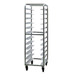 "New Age 97745 20.38""W 24-Specialty Pan Rack w/ 5"" Bottom Load Slides"
