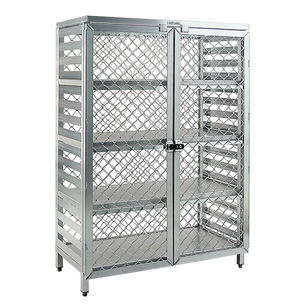 "New Age 97846 48"" Stationary Security Cage, 24""D"