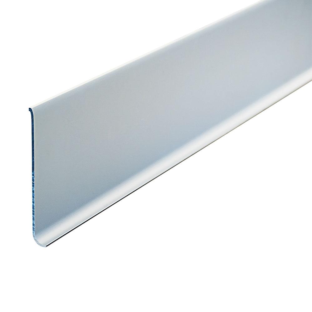 "New Age 9787C Cove Baseboard, 96x5"", Aluminum"