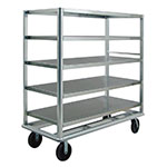 "New Age 97942 65.5"" Queen Mary Cart w/ 5 Levels, 3000-lb Capacity"