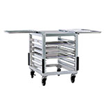 "New Age 98000 23.25"" Mixer Table w/ Aluminum Pan Slide Base & Outrigger Channels, 26""D"