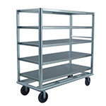 "New Age 98181 78"" Queen Mary Cart w/ 5 Levels, 2500-lb Capacity"