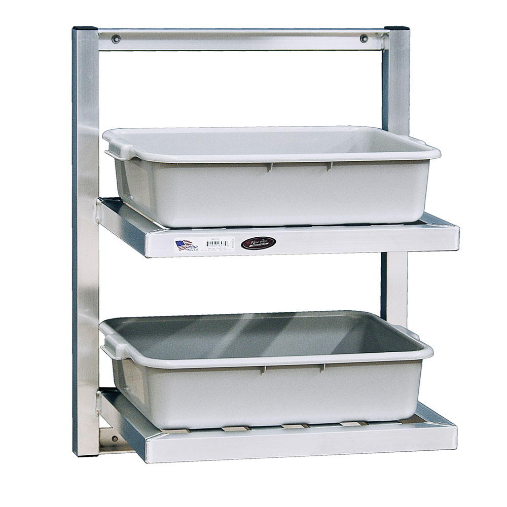 """New Age 98272 24"""" Slatted Wall Mounted Shelving"""