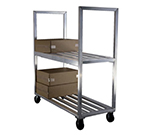 "New Age 1151 Mobile Boxed Beef Truck w/ 2600-lbs Capacity & 2-Shelves, 27x63"", Aluminum"