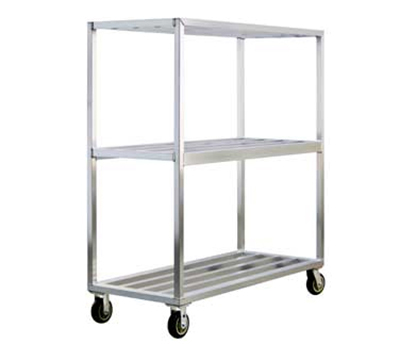 """New Age 1152 Mobile Boxed Beef Truck w/ 2600-lbs Capacity & 3-Shelves, 27x63"""", Aluminum"""