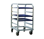 "New Age 1162 Mobile Platter Rack w/ Open Sides, Full Height & Slides for (6)18x26"" Platter"