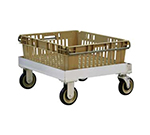 New Age 1171 Single Stack Chilltray Dolly w/ Open Frame Design & 1200-lb Capacity, Aluminum