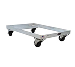 New Age 1195 Dough Dolly, 5.5x25.5x18, Accepts Toteline Trays 870008-Model, Aluminum