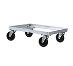 New Age 1196 Dough Dolly, 8x25.5x18, Accepts Toteline Trays 870008-Model, Aluminum
