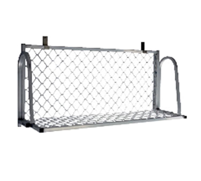 "New Age 1372W Wall Mount Boat Rack w/ Mounting Brackets & Hardware, 60x15"", Aluminum"