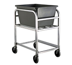 "New Age 1275 Bulk Cart w/ 2.25-Bushel Capacity & Grey Tub, 35.25x19.75x26"", Aluminum"