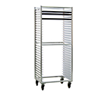 "New Age 1330S Mobile Full Height Pan Rack w/ Open Sides & (30)18x26"" Pan Capacity, Aluminum"
