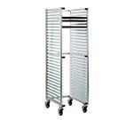 "New Age 1330U Mobile Full Height U Type Nesting Pan Rack, Open Sides (30)18x26"" Pan Capacity"