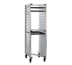 "New Age 1330Z Mobile Full Height Z Type Nesting Pan Rack, Open Sides (30)18x26"" Pan Capacity"
