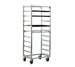 "New Age 1334S Mobile Full Height Pan Rack w/ Open Sides (10)18x26"" Pan Capacity Side Loading"