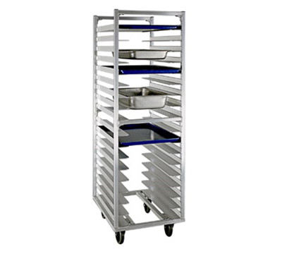 "New Age 1335 Universal Roll In Refrigerator Proofer Rack w/ Open Design (18)18x26"" Capacity"