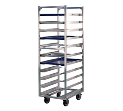 "New Age 1336 Universal Roll In Refrigerator Proofer Rack w/ Open Design (11)18x26"" Capacity"