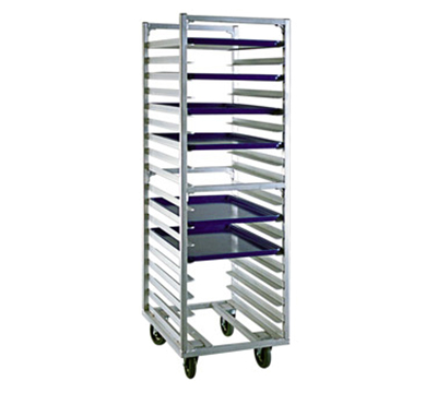 "New Age 1338 20.38""W 18-Sheet Pan Rack w/ 3"" Bottom Load Slides"