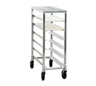 """New Age 1340 Mobile Full Height Platter Rack w/ (6)10x30"""" Platter Capacity & End Loading"""