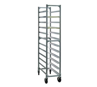 """New Age 1345 Mobile Full Height Platter Rack w/ (12)10x30"""" Platter Capacity & End Loading"""