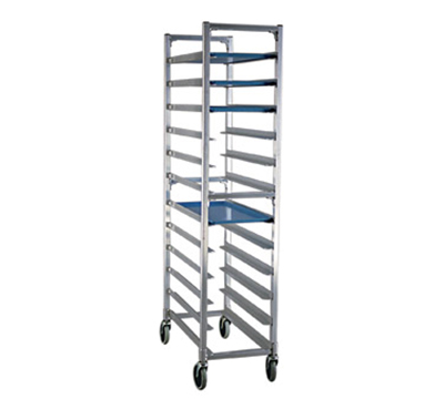 "New Age 1350 Mobile Full Height Platter Rack w/ (18)12x30"" Platter Capacity & End Loading"