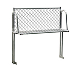 "New Age 1371T Table Mount Boat Rack w/ Mounting Brackets & Hardware, 48x15"", Aluminum"