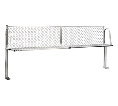 "New Age 1375T Table Mount Boat Rack w/ Mounting Brackets & Hardware, 120x15"", Aluminum"