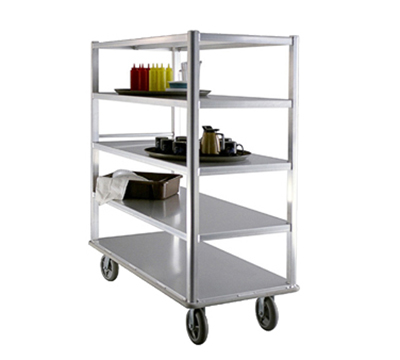 "New Age 1451 75"" Queen Mary Cart w/ 5 Levels, 2500-lb Capacity"