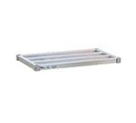 New Age 1554HD Heavy Duty Square Bar Shelf w/ 2000-lb Capacity/Shelf, 15x54-in, Welded Aluminum