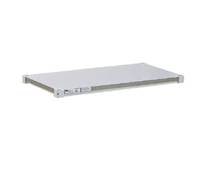 New Age 2448SB Solid Reinforced Shelf w/ 800-lb Capacity Per Shelf, 24x48-in, Aluminum