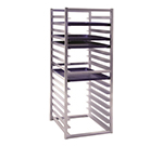 New Age 1612 51-in Insert Rack w/ Open Sides, (16)18x26-in Pan Capacity, End Loading Aluminum