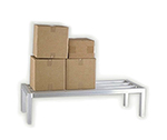 "New Age 2032 Square Bar Dunnage Rack w/ 1-Tier & 4000-lb Capacity, 8x24x72"", Aluminum"