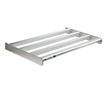 New Age 2515 Heavy Duty Bar Style Cantilevered Shelf w/ 900-lb Capacity, 24x60-in, Aluminum