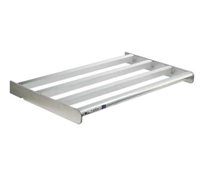 "New Age 2502 Heavy Duty Bar Style Cantilevered Shelf w/ 900-lb Capacity, 18x42"", Aluminum"
